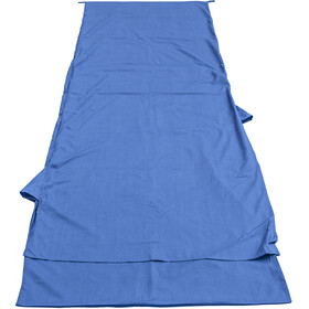 Basic Nature Mixed Sleeping Bag Liner Blanket Shape, royal blue